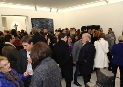 Vernissage in der Galerie Hervé Lancelin