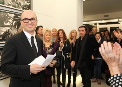 El coleccionista Hervé Lancelin desea compartir su pasión por el arte.